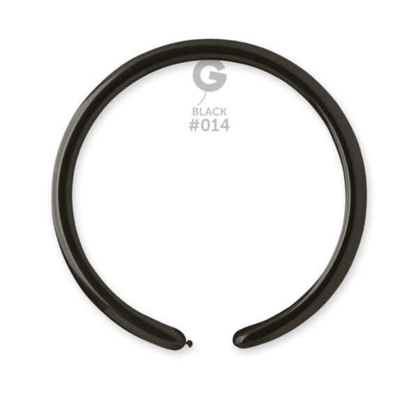 D2: #014 Black 211405 Standard Color 1in