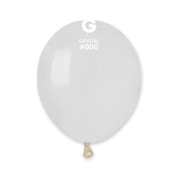 A50: #000 Clear 050011 Standard Color 5in