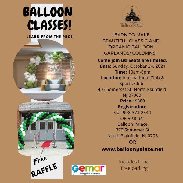 Balloon Decor Class